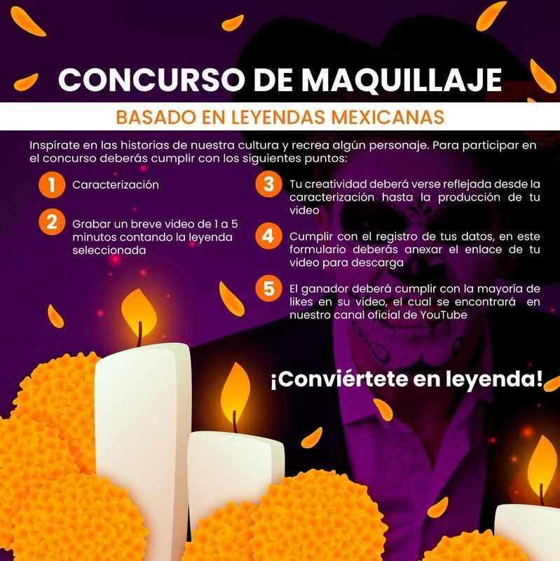Concurso de Maquillaje Basado en Leyendas Mexicanas Featured Photo