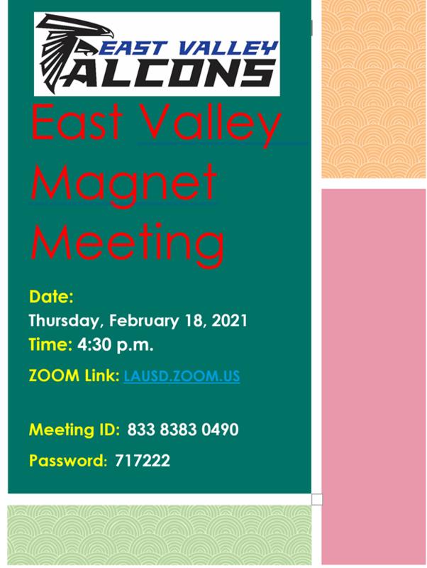 Magnet Meeting Flyer Image