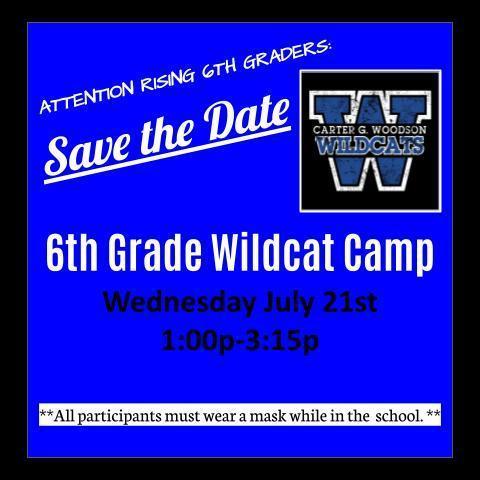6th Grade Wildcat Camp