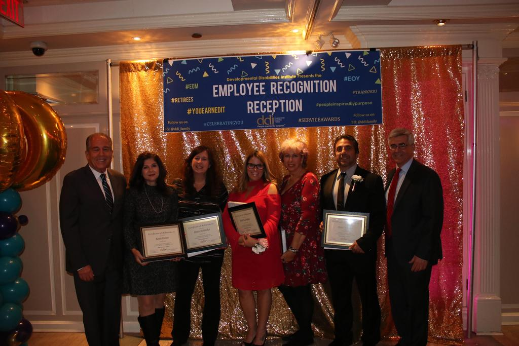 Group Photo of 30-Year Service Award recipients