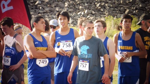 The first Cross Country meet of the school year.