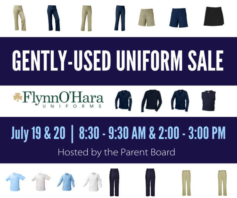 Gently Used Uniform Sale *NEW TIMES Featured Photo