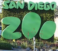 San Diego Zoo sign