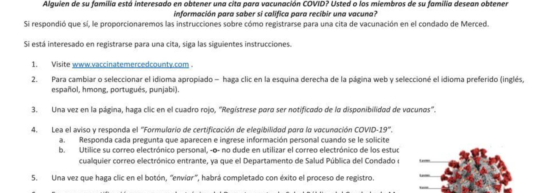 COVID Vaccine Information_English