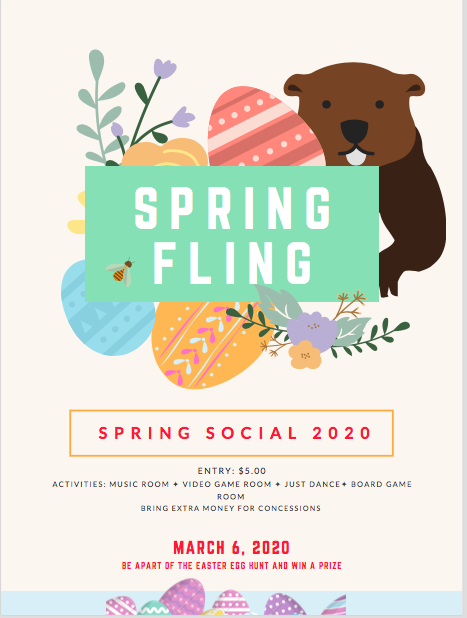 Spring Social Scheduled for March 6 Thumbnail Image