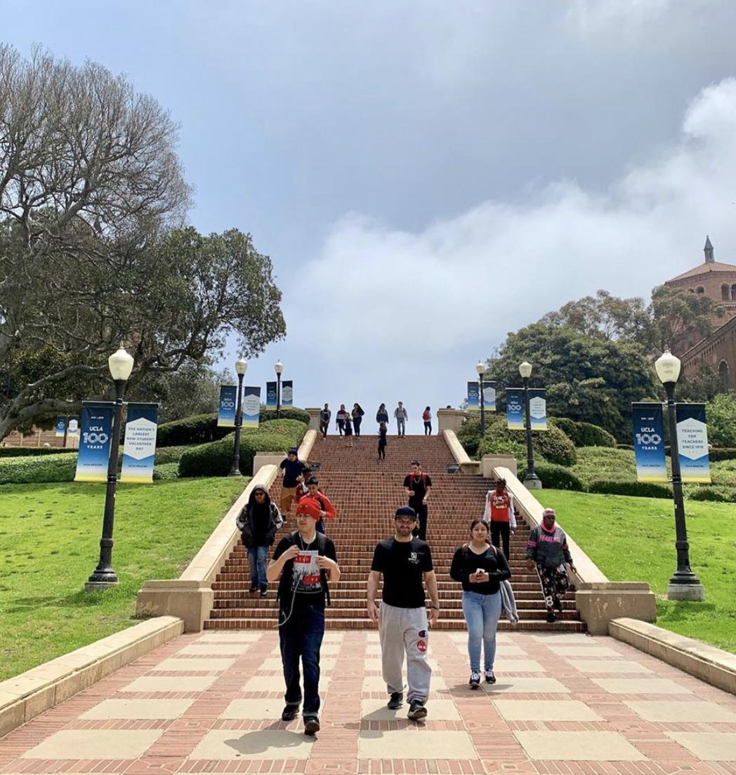 Avalon students tour UCLA
