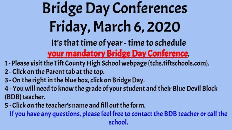 Bridge Day Conference Scheduling Featured Photo