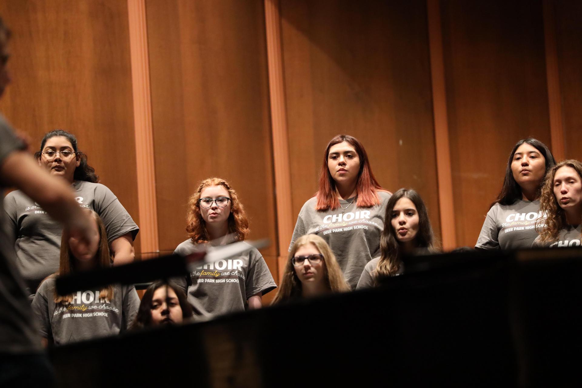 High School Choir performance