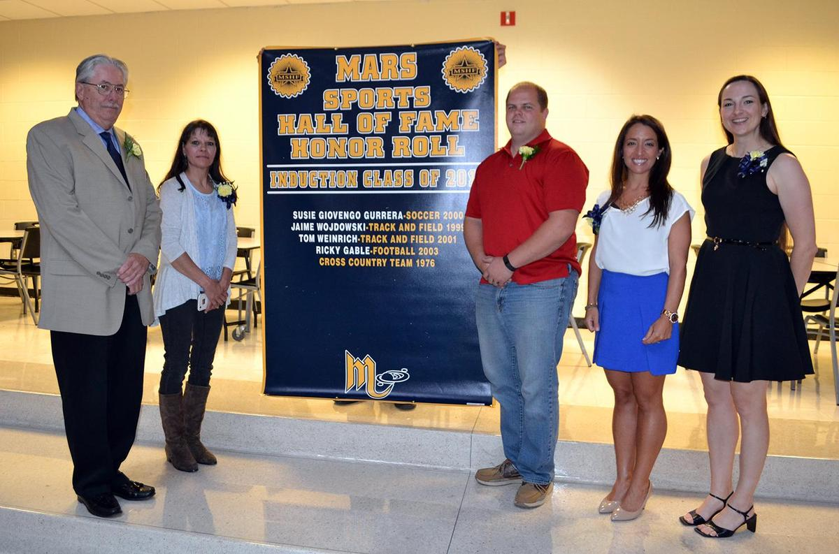 2015 Mars Area High School Sports Hall of Fame Inductees