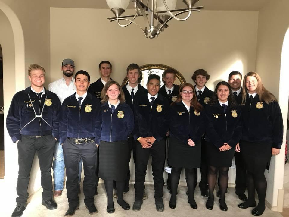 FFA Students attending the 2018 Convention