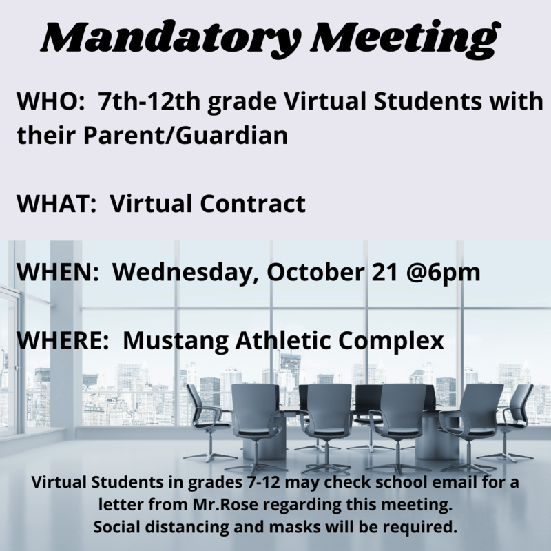 7th-12th Grade Mandatory Meeting Featured Photo
