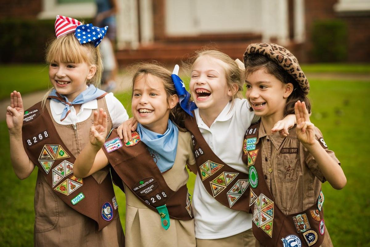 HPISD girl scout groups