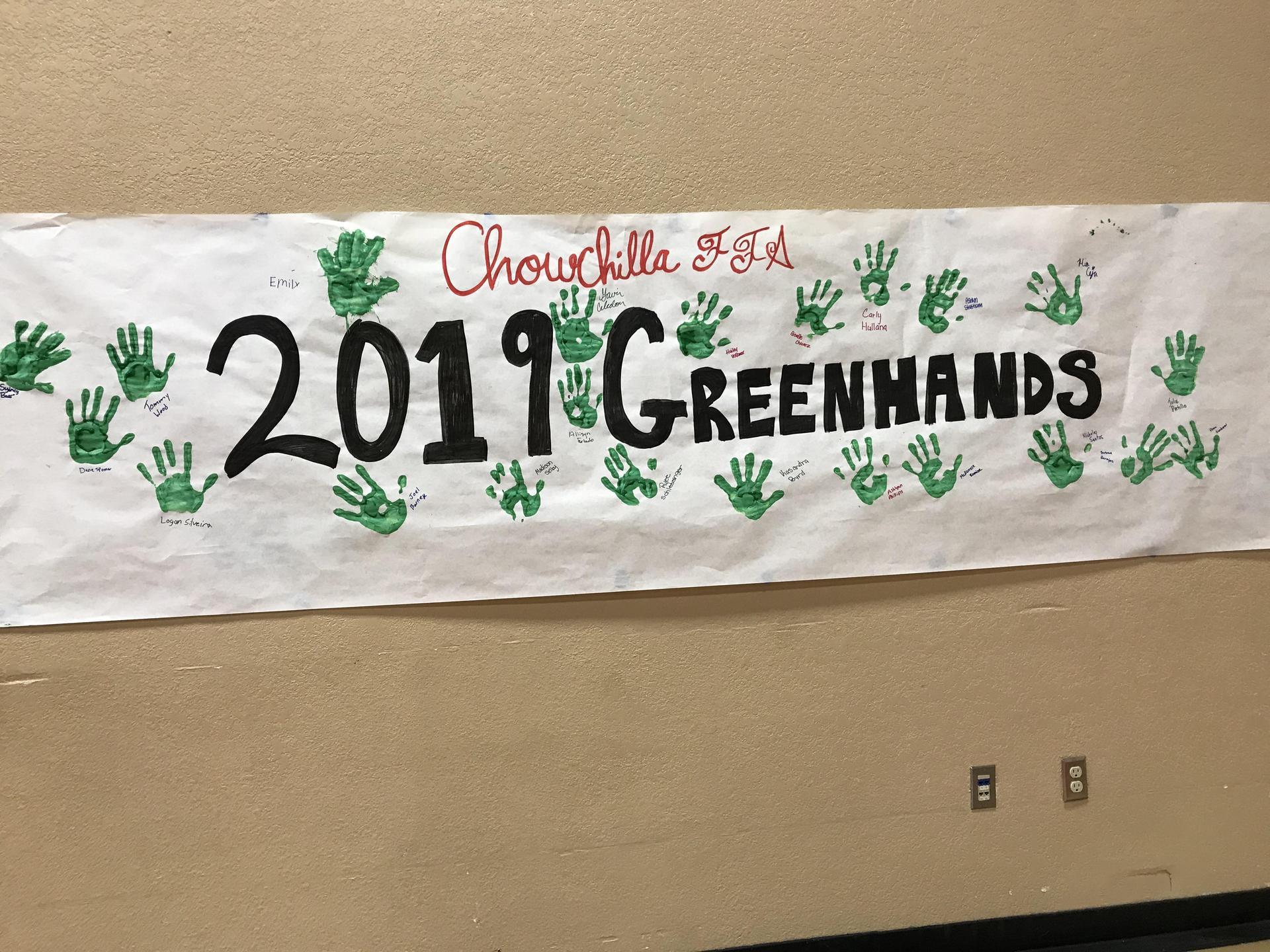 Greenhand Banquet Poster