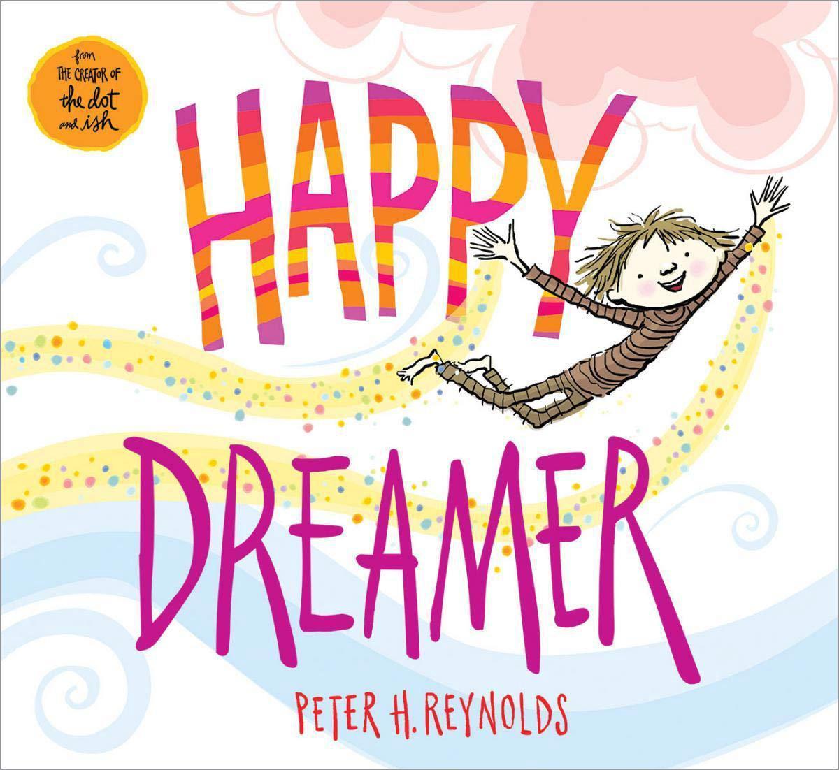 Cover of book, Happy Dreamer