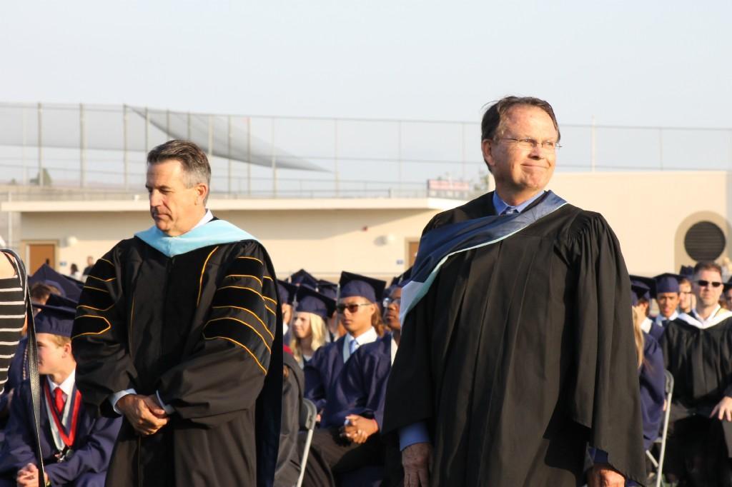 Principal Flynn and Dr Domene