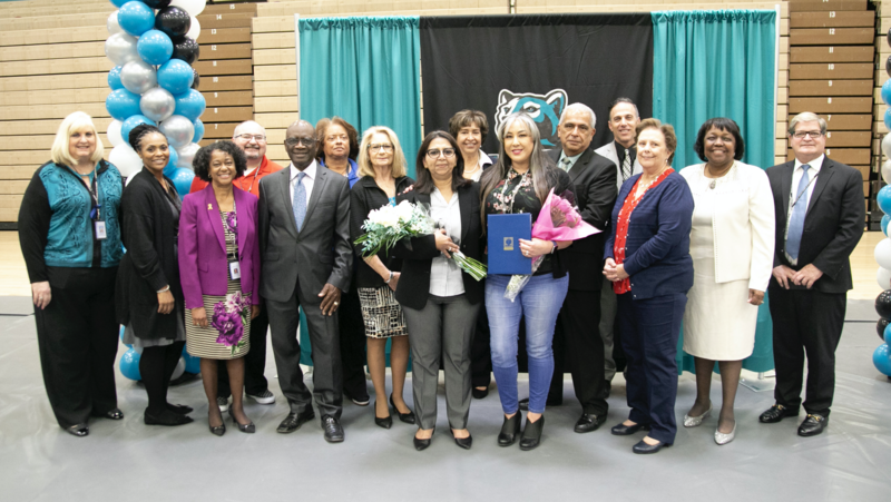 RCOE recognition for educators of the year