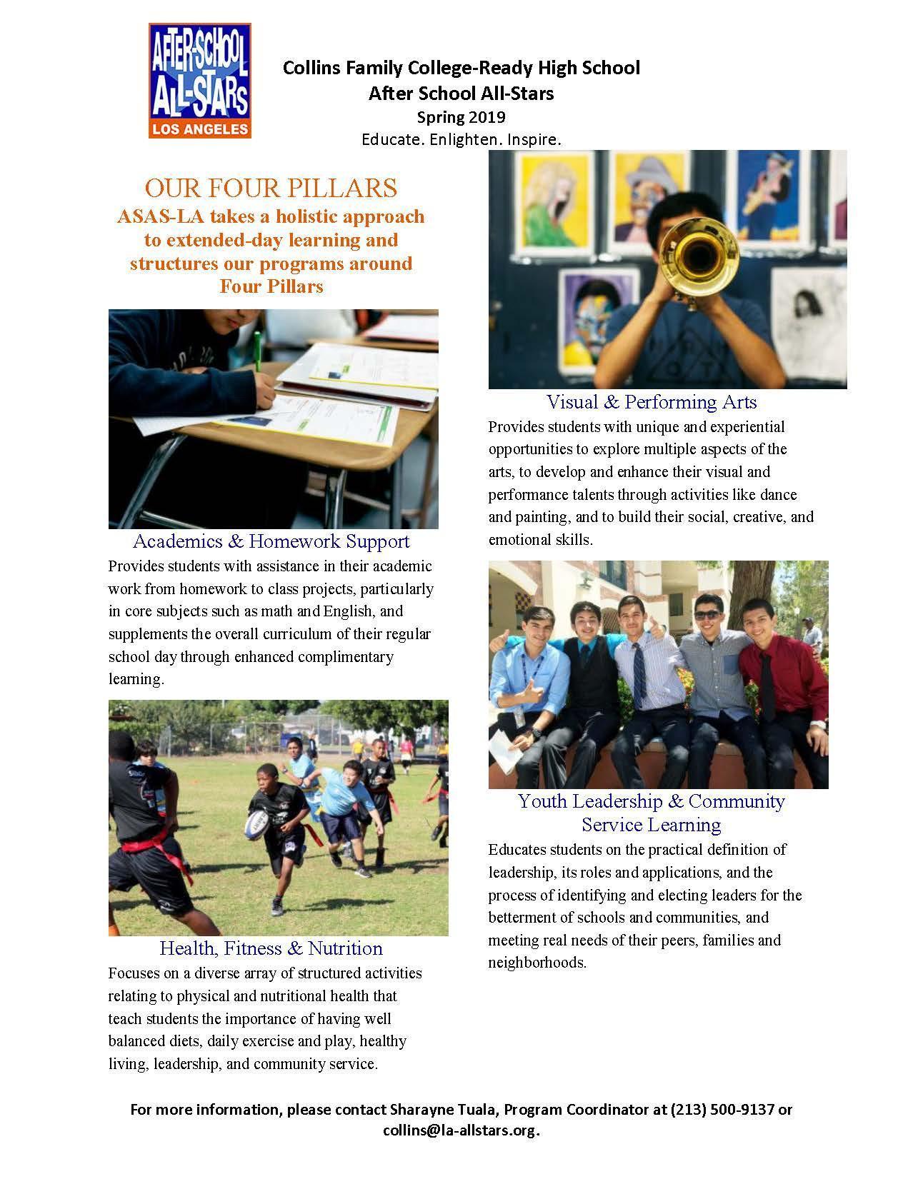 ASAS – After-School Program & Activities – Alliance Collins