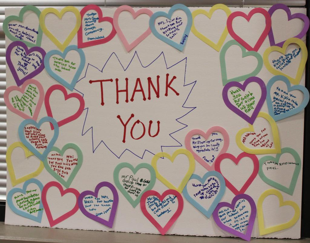 Image of Thank you Poster