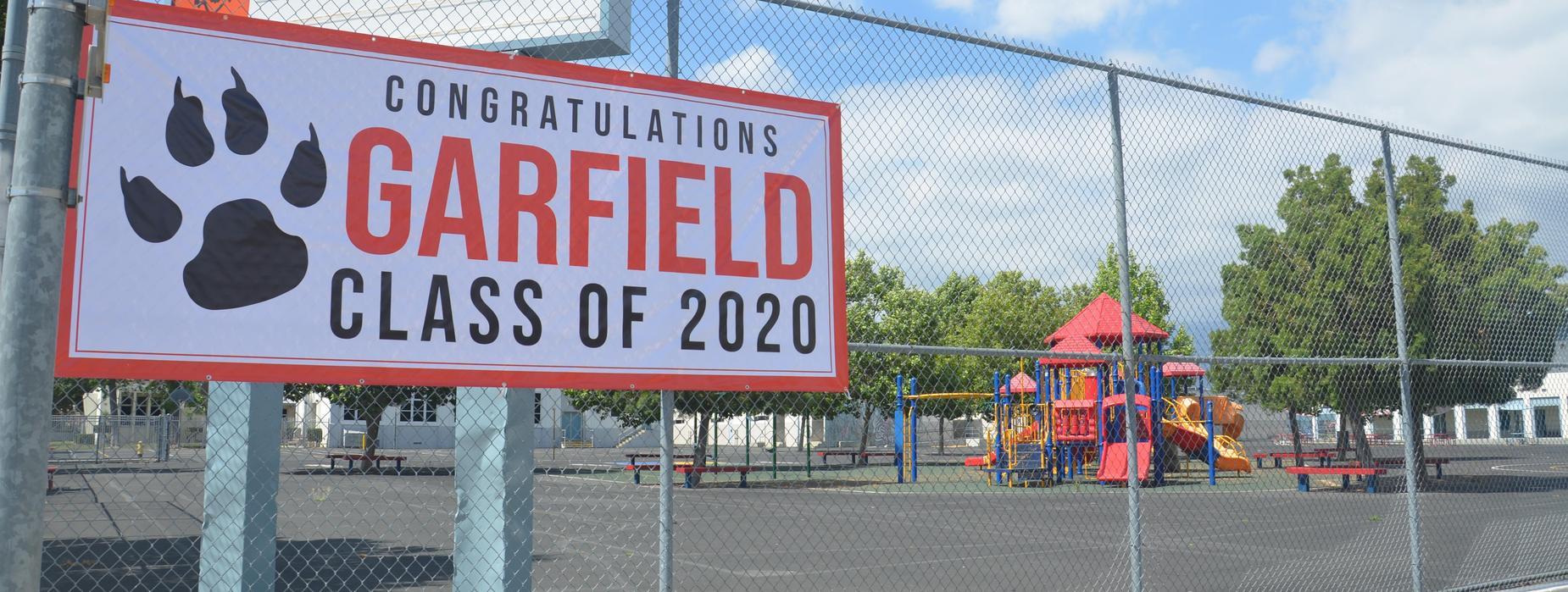 Garfield Class of 2020 Banner