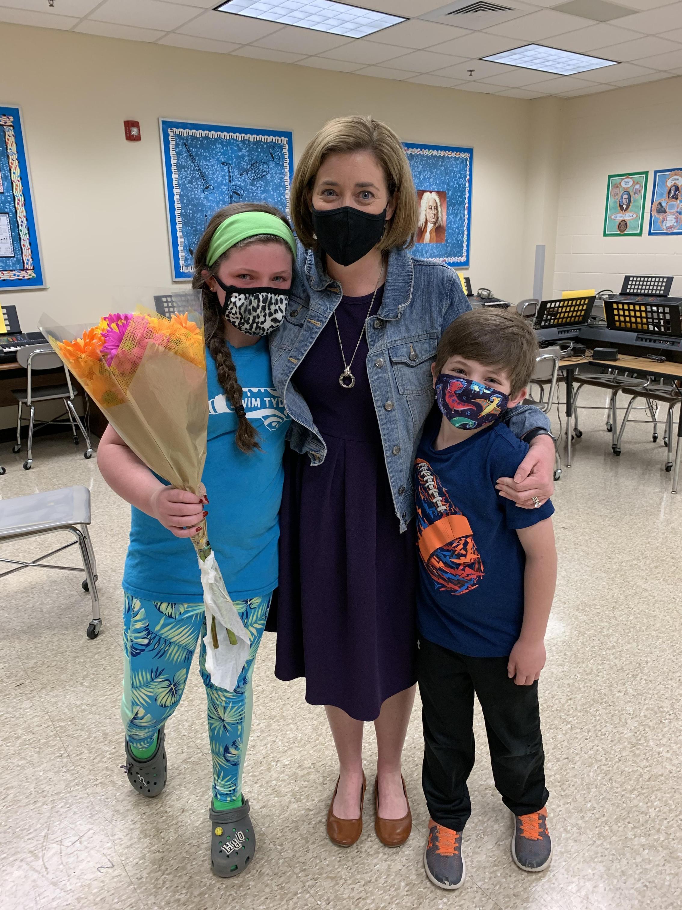 Meredith Regan-teacher of the year