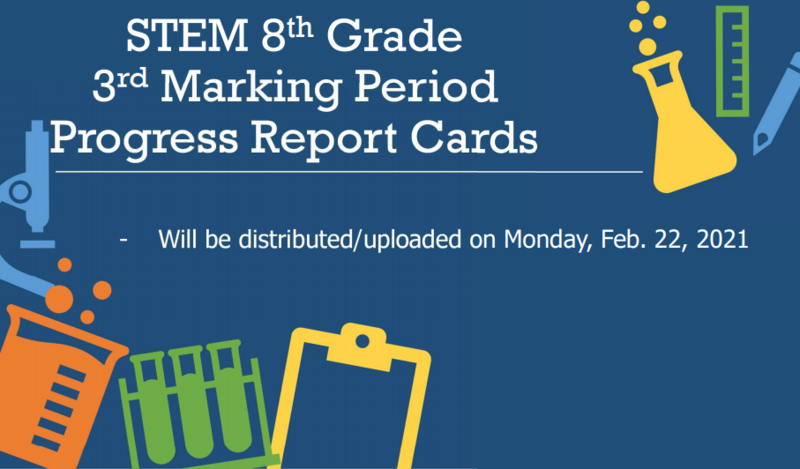 STEM 8th grade and High School Marking Periods! Thumbnail Image