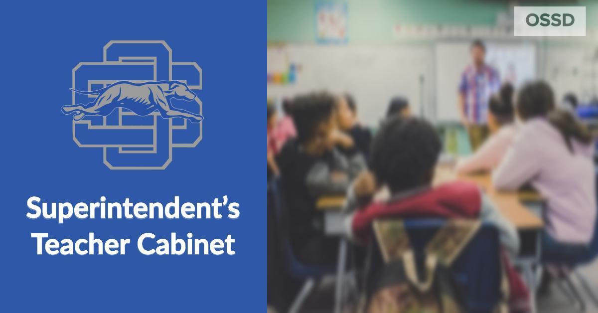 Superintendents Teacher Cabinet