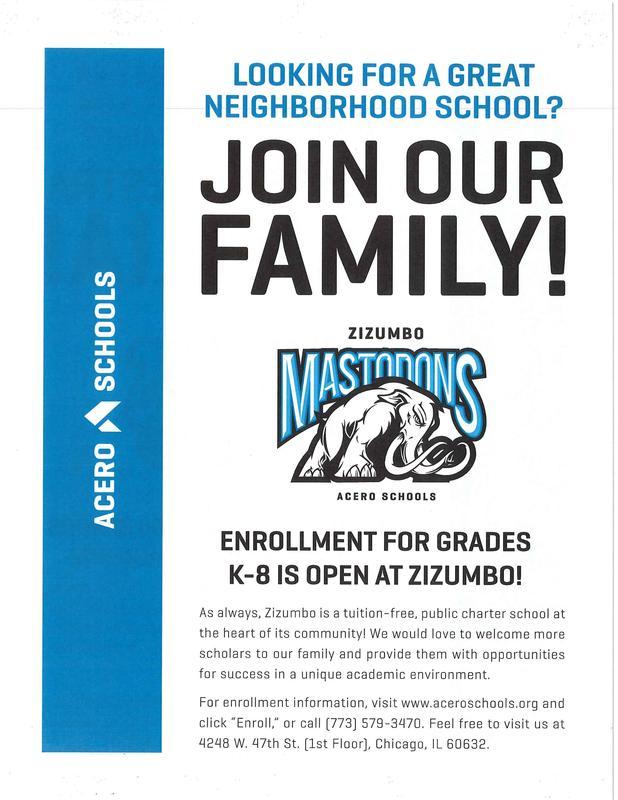 Open Enrollment for Grades K-8 Featured Photo