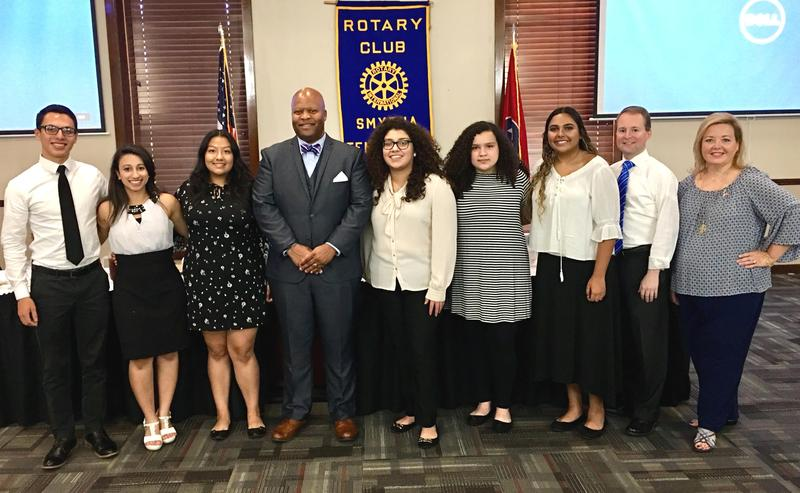 LaVergne High, Motlow dual enrollment students recognized by Smyrna Rotary Club Thumbnail Image