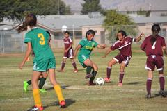 Citrus Soccer player determined to get the ball