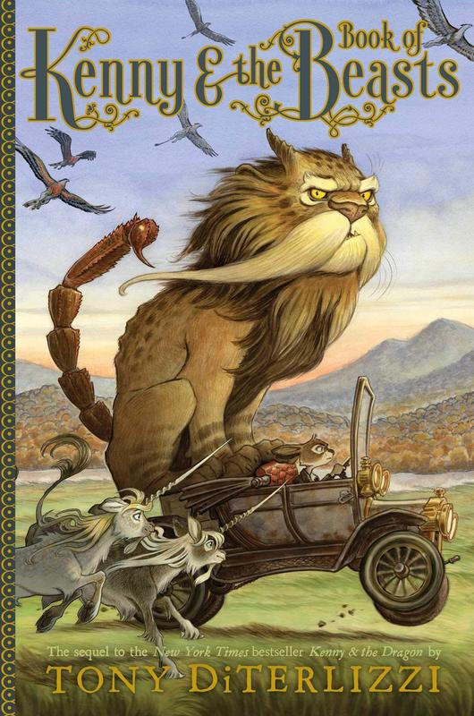 Cover image for Kenny and the Book of Beasts