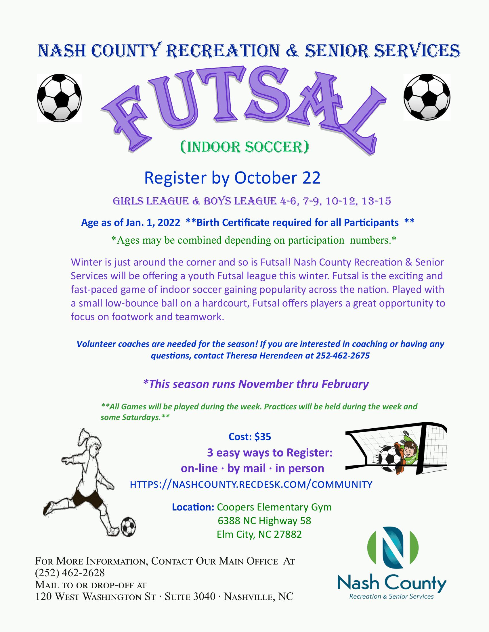 Futsal Flyer