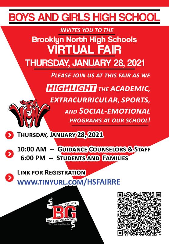 BGHS BNHS Virtual Fair 2021