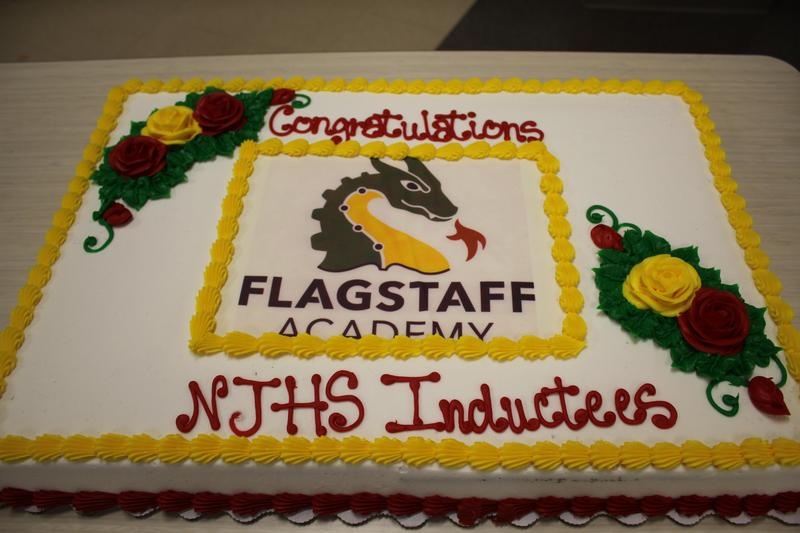 Flagstaff Academy Welcomes 17 New NJHS Inductees! Thumbnail Image
