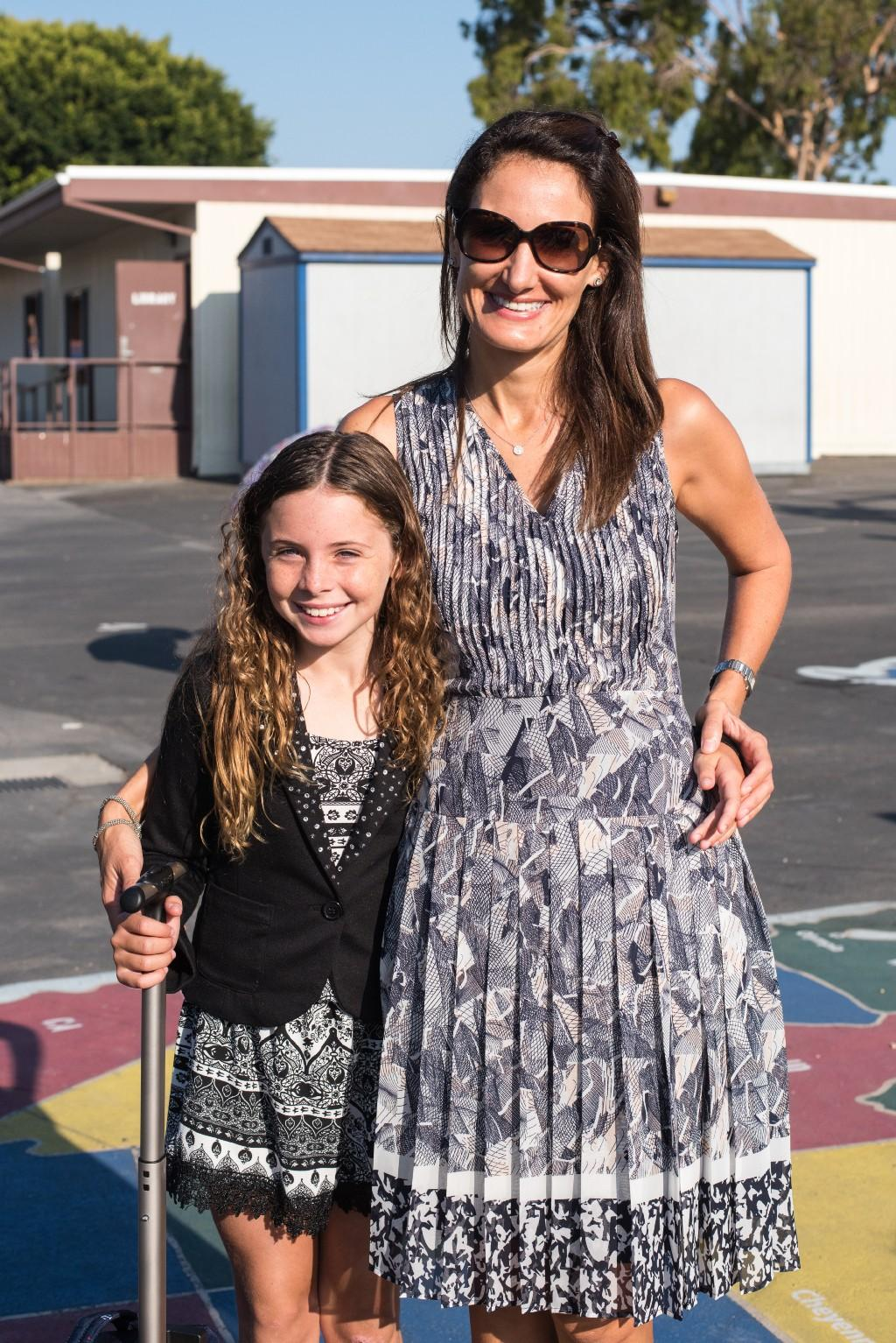 Principal with Student