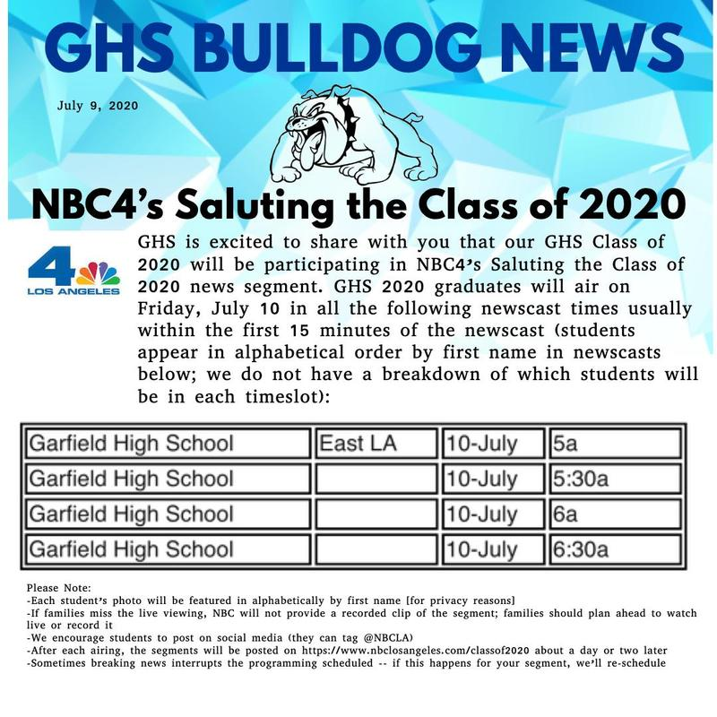 NBC4's Saluting the Class of 2020