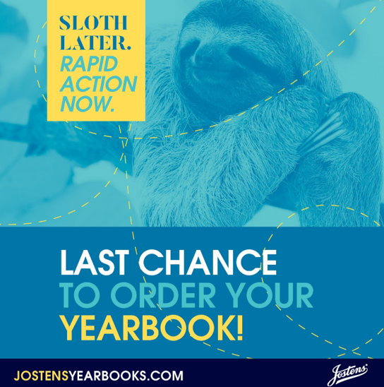 Last Chance to Purchase Yearbooks Thumbnail Image