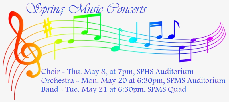 This week:  Orchestra Concert 5/20 & Band Concert 5/21 Featured Photo