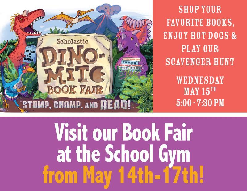 Spring Book Fair is Coming May 14-17 Thumbnail Image