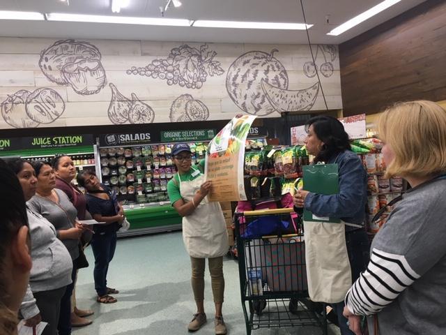 Parent store tour to Northgate Supermarket