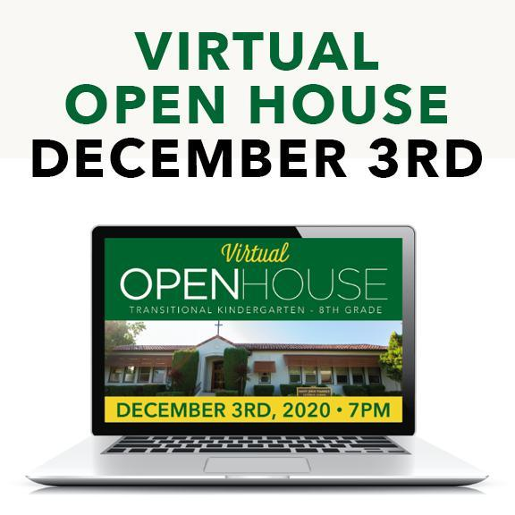 December VIRTUAL Open House For New Families Featured Photo