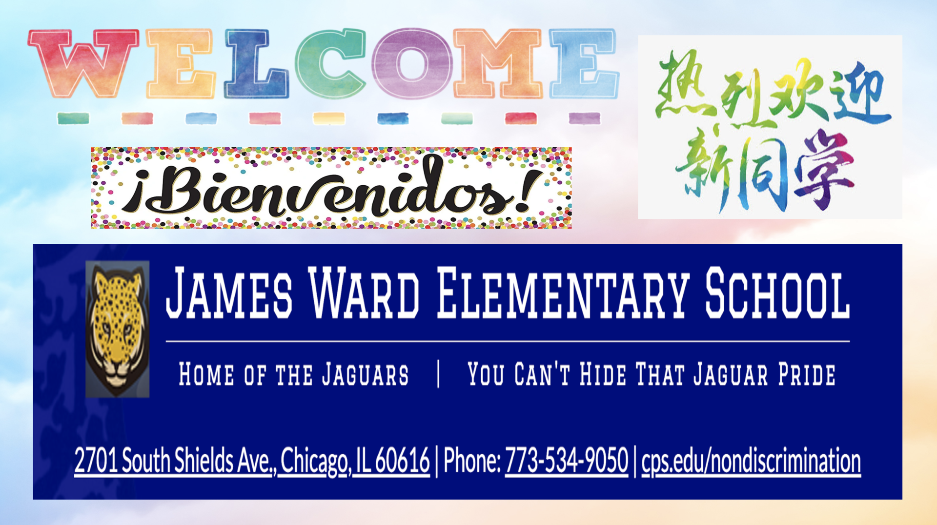 Welcome to James Ward Elementary School!
