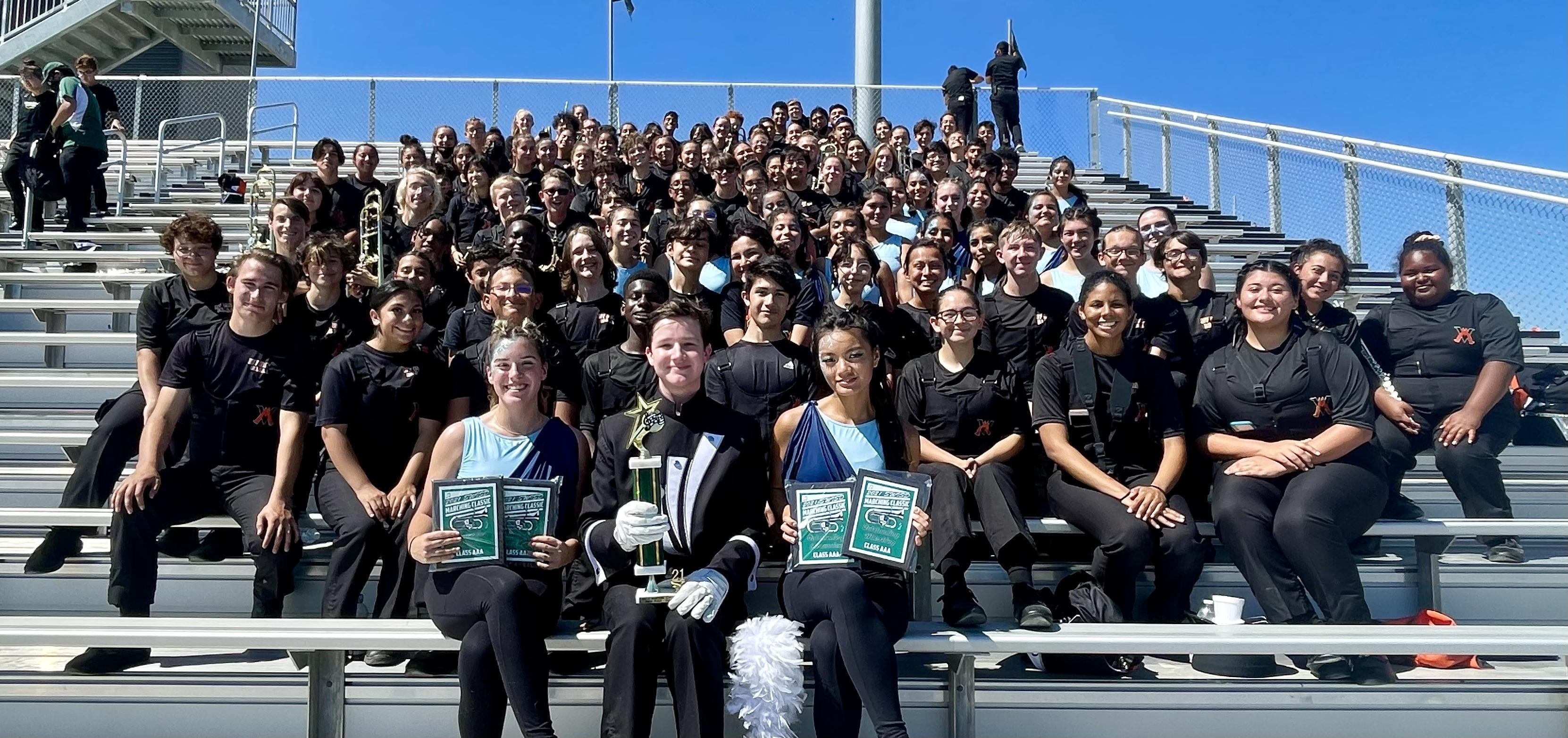 1st Place AAA, 1st Place Overall at the Contest