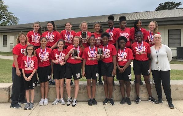 Lincoln Junior High 7th Grade Girls Track Team wins District Championship Thumbnail Image