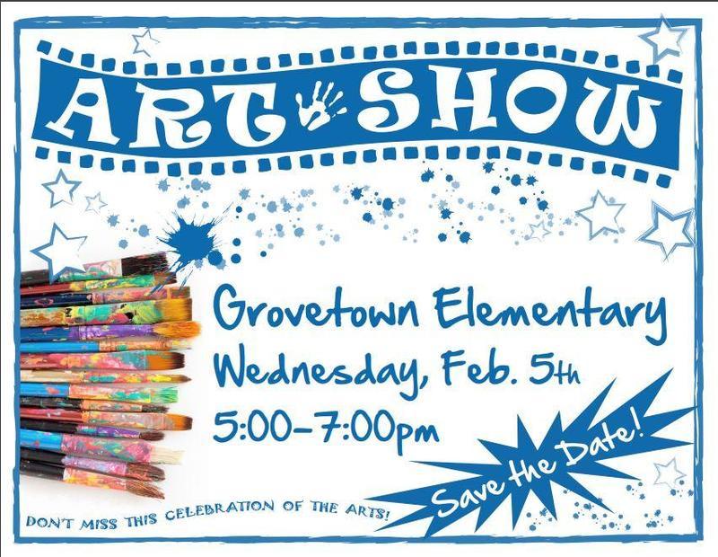 Grovetown Elementary School Art Show Feb. 5 Featured Photo