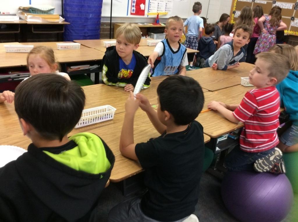 2017 CLC students teaching Hand washing 1st Grade
