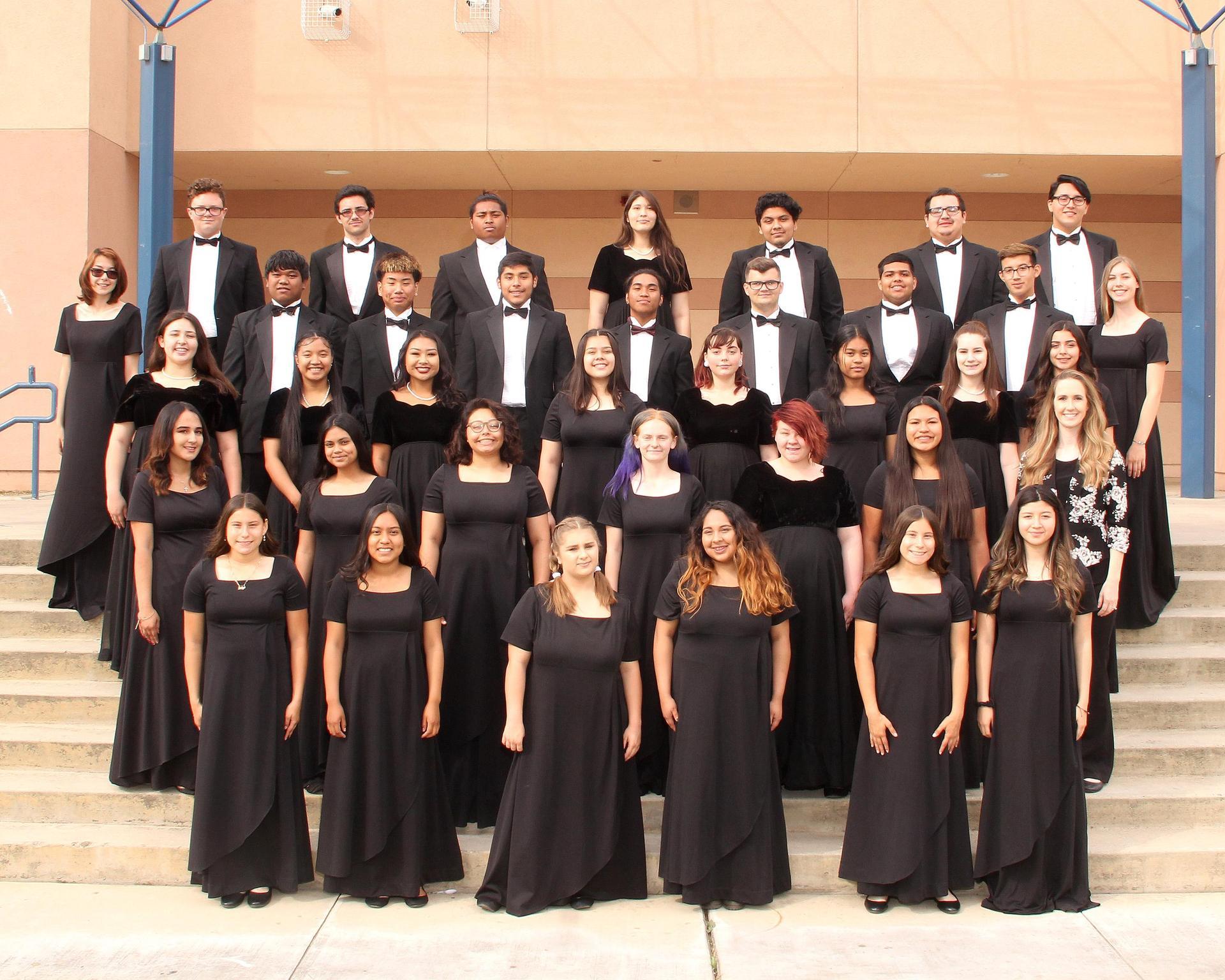2018-19 Grizzly Concert Choir