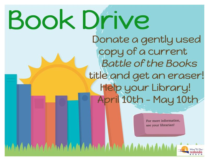 Book Drive Featured Photo