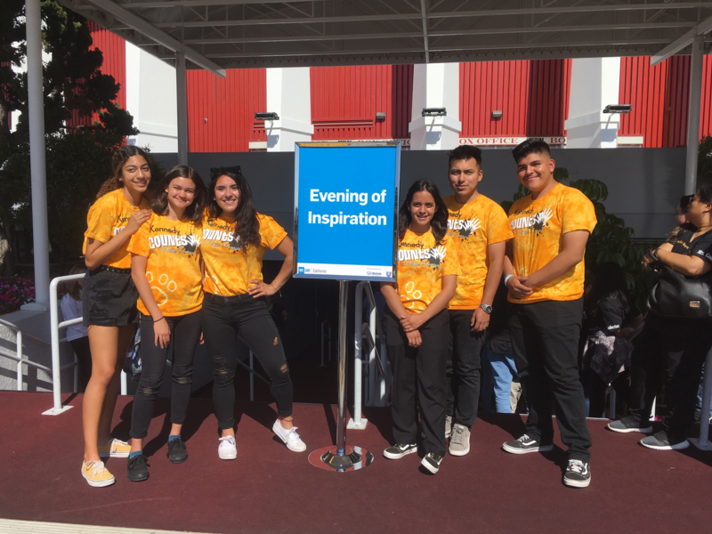 Kennedy Counts Invited to Present at California WE Day Featured Photo