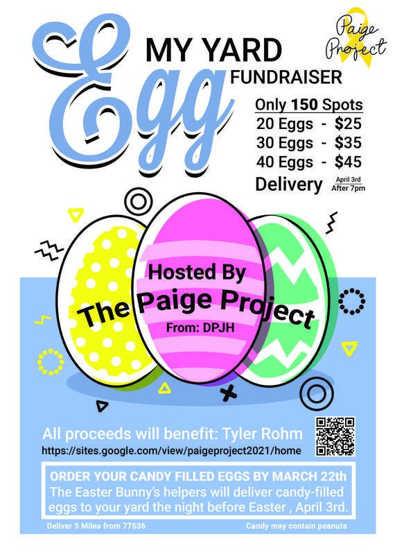 Egg My Yard Fundraiser