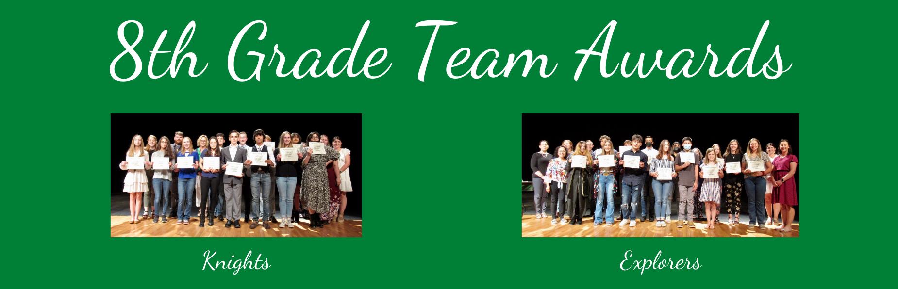 8th grade team awards
